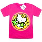 """2602-1 """"Китти"""" футболка для девочек 2-6 лет"""