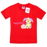 """2602-4 """"Зайка"""" футболка для девочек 2-6 лет"""