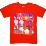 """5902-6 """"Модница"""" футболка для девочек 5-9 лет"""
