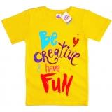 """91302-5 """"Будь Креативной!"""" футболка для девочек 9-13 лет"""