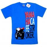 """91301-6 """"Мотокафе"""" футболка для мальчиков 9-13 лет"""